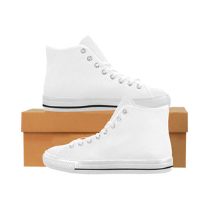 Custom Vancouver High Top Canvas Men's Shoes(Model1013-1) (Large Size)- YET