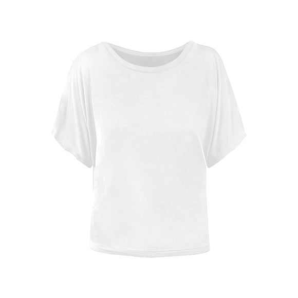 Custom Women's Batwing Sleeve T-Shirt (Model T43-YET)