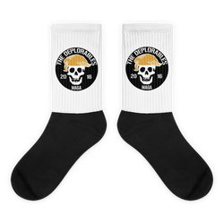 Mark of the Deplorable Fully Sublimated Comfy Holiday Socks