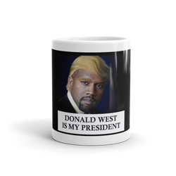 Donald West West is My President Official Mug