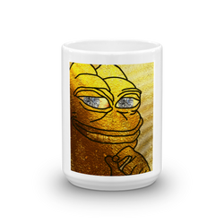 Golden Rare Pepe Limited Edition Mug!