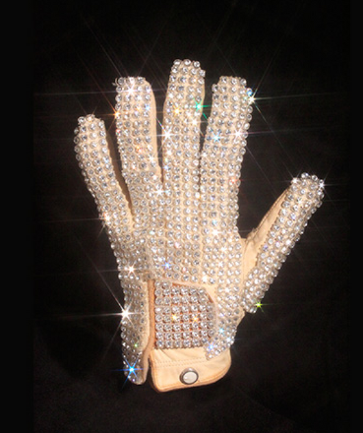 Iconic Vintage Michael Jackson Glove from 1983 Billie Jean Performance (Replica)