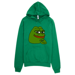 Smug Pepe Original Winter Christmas Sweater | MemesToLife