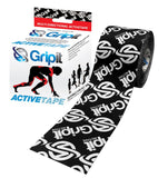 Gripit Active Tape Black Functional Tape KTape