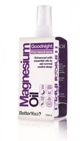 Magneisum Oil BetterYou Goodnight Sleep Support