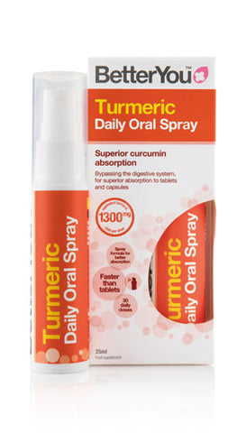 BetterYou™ Turmeric Oral Spray - Superior Curcumin Absorption