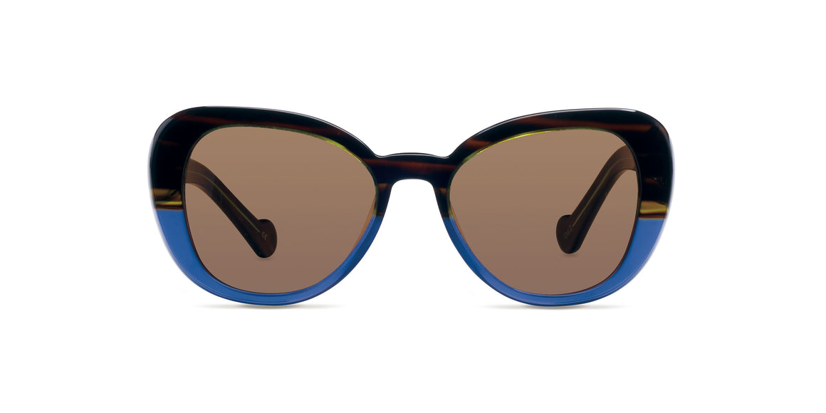 Emma - Brown Tortoise - TSun Optica - Sunglasses