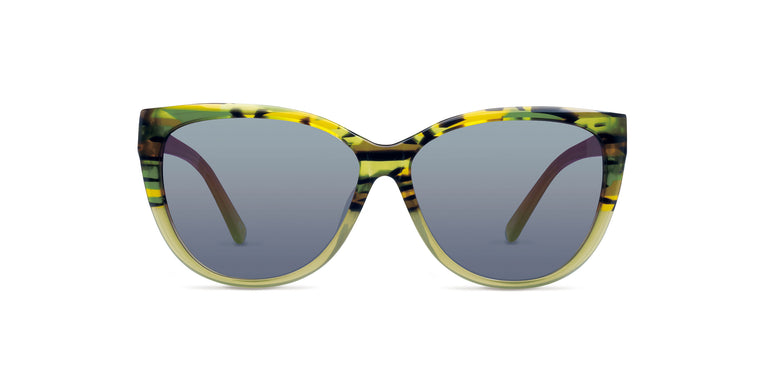 Penelope - Green Stripe - TSun Optica - Sunglasses