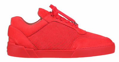 Low-Top SCARLET RED