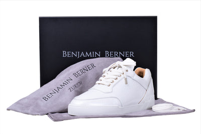 Low-Top OFF WHITE WASHED PATENT CALFSKIN