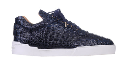 Low-Top NAVY ALLIGATOR EFFECT