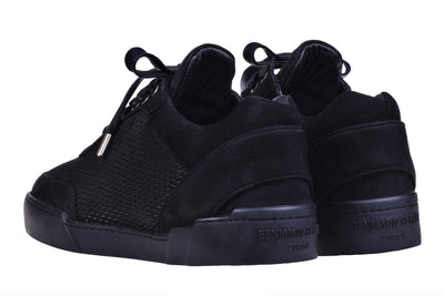 Low-Top ALL BLACK NUBUCK