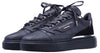 BNJ RAPHAEL Low-Top ALL BLACK  MATT CROCODILE