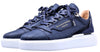 BNJ RAPHAEL Low-Top NAVY  MATT CROCODILE