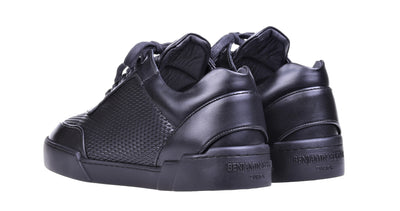 Low-Top ALL BLACK NAPPA