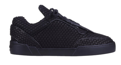 Low-Top BLACK COBRA CUT NUBUCK