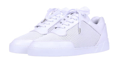 Low-Top ALL WHITE NAPPA