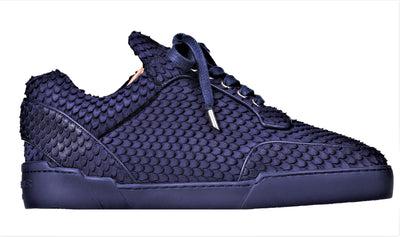 Low-Top MIDNIGHT BLUE COBRA CUT