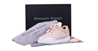 Women's Low-Top Champagne Washed Patent