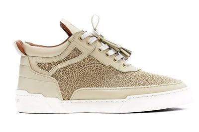 Mid-Top BEIGE NAPPA STRINGRAY