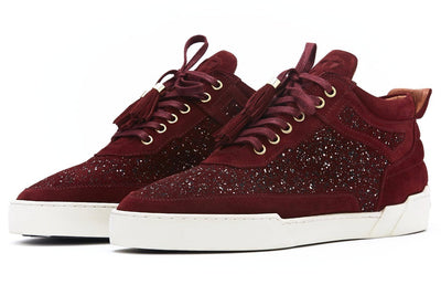 Women's  Mid-Top BORDEAUX RED