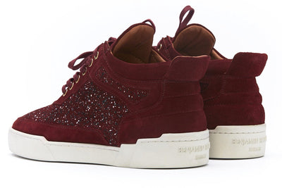 Mid-Top BORDEAUX RED