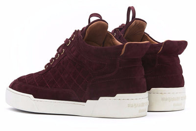 Mid-Top BURGUNDY