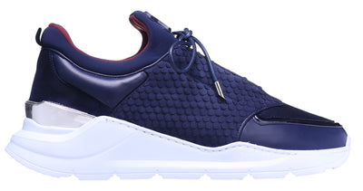 LOW-TOP BNJ MAGNUS RUNNER NAVY COBRA CUT-NEOPRENE