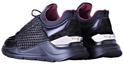 Low-Top BNJ MAGNUS RUNNER ALL BLACK COBRA CUT-NEOPRENE