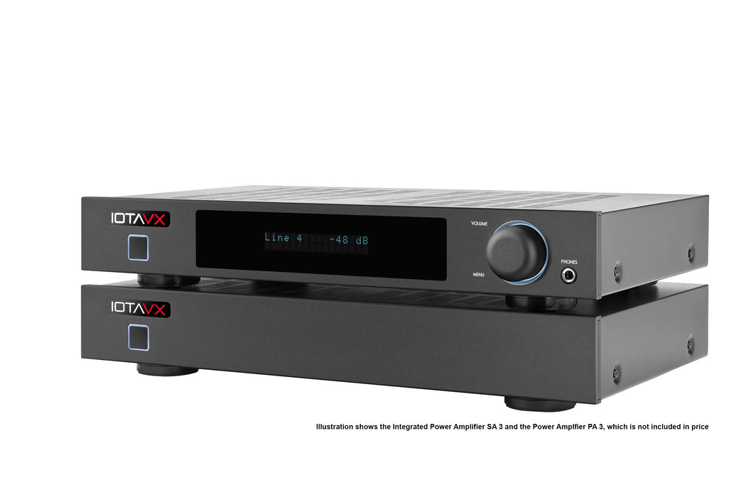 REFURBISHED IOTAVX SA3 AUDIOPHILE INTEGRATED STEREO AMPLIFIER