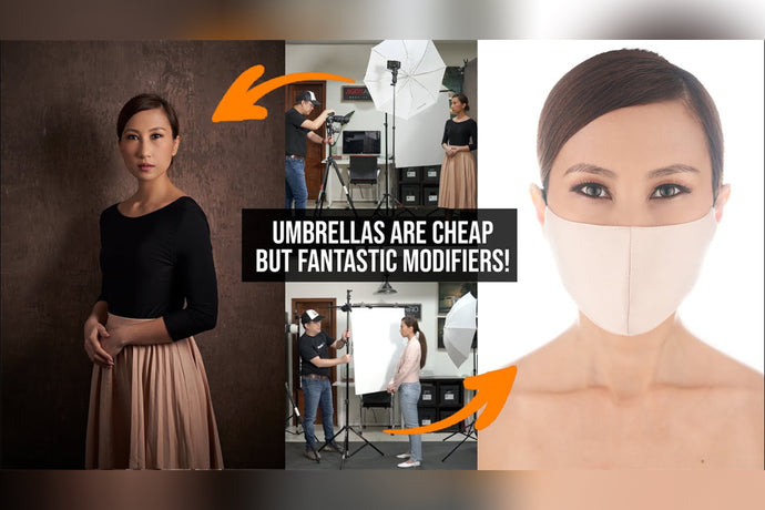 LIGHTING HELP: Achieve Clean High Key Light & Beautiful Soft Light in Just Seconds! Start Using Umbrella TODAY