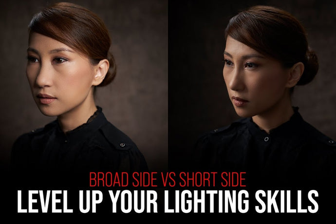 LIGHTING HELP: How to LEVEL UP Your Photography Lighting skills? Try lighting the SHORT SIDE!