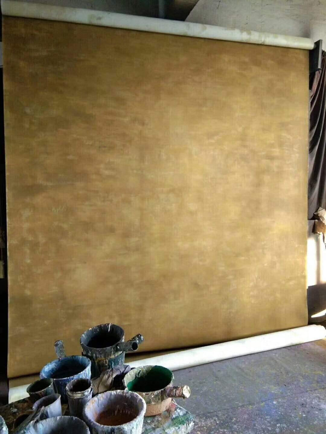 Load image into Gallery viewer, Katebackdrop£ºKate Gold Abstract Texture Spray Painted Backdrop