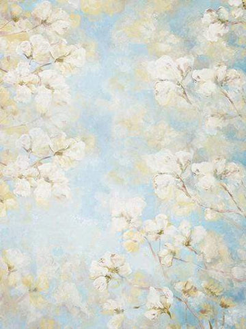 Katebackdrop:Kate White Flower Spring/Easter Background For Cake Smash
