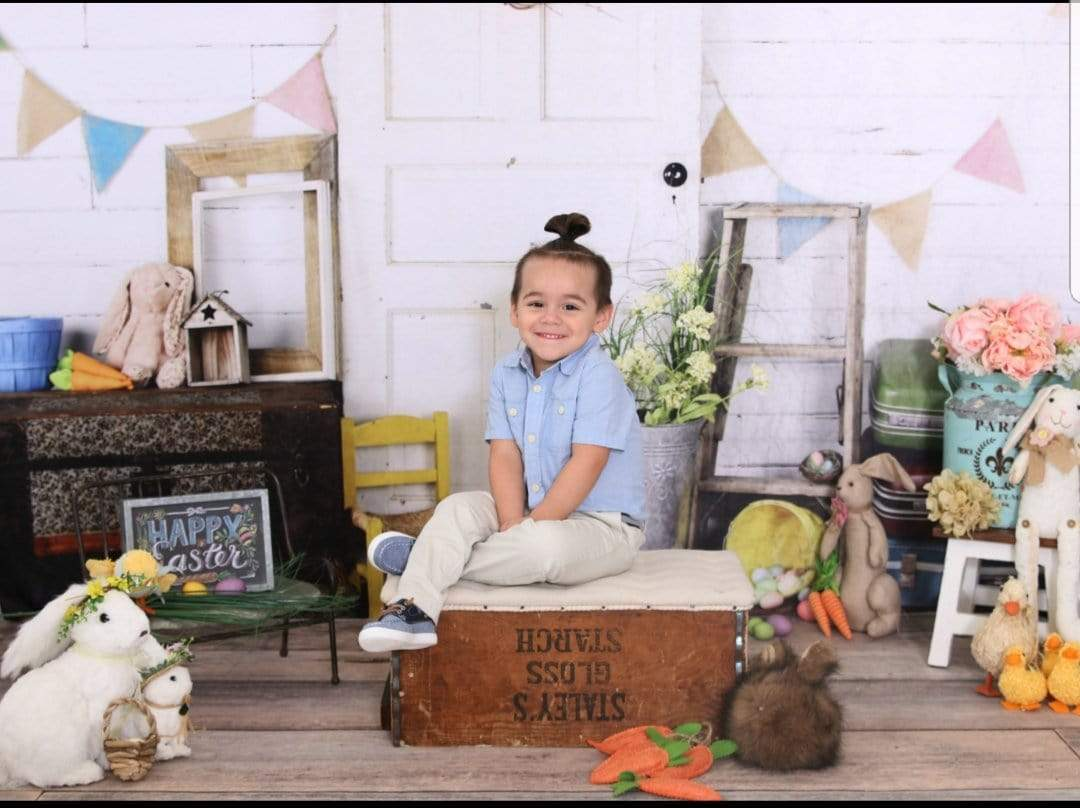 Load image into Gallery viewer, Katebackdrop£ºKate Easter Door Backdrops Designed by Arica Kirby