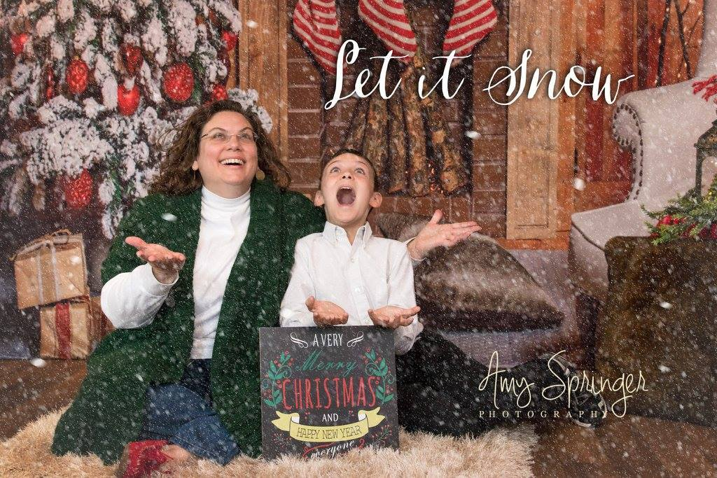 Load image into Gallery viewer, Kate Christmas Stocking Backdrop Photo Background Studio Props