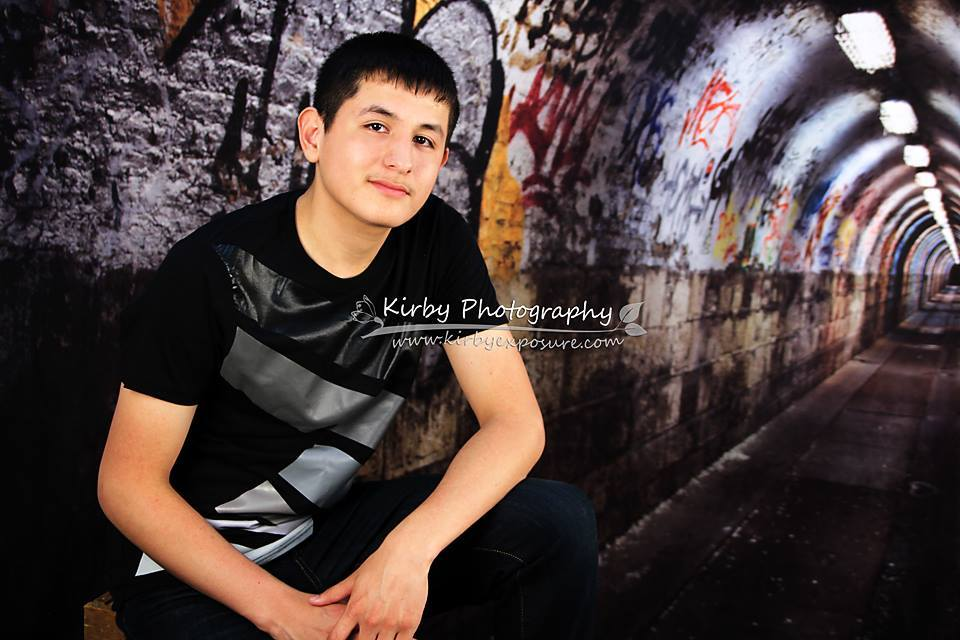Kate Graffiti Wall Tunnel Building Backdrop For Photography - Katebackdrop