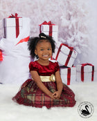 Kate Christmas Gift Snow Tree Backdrop
