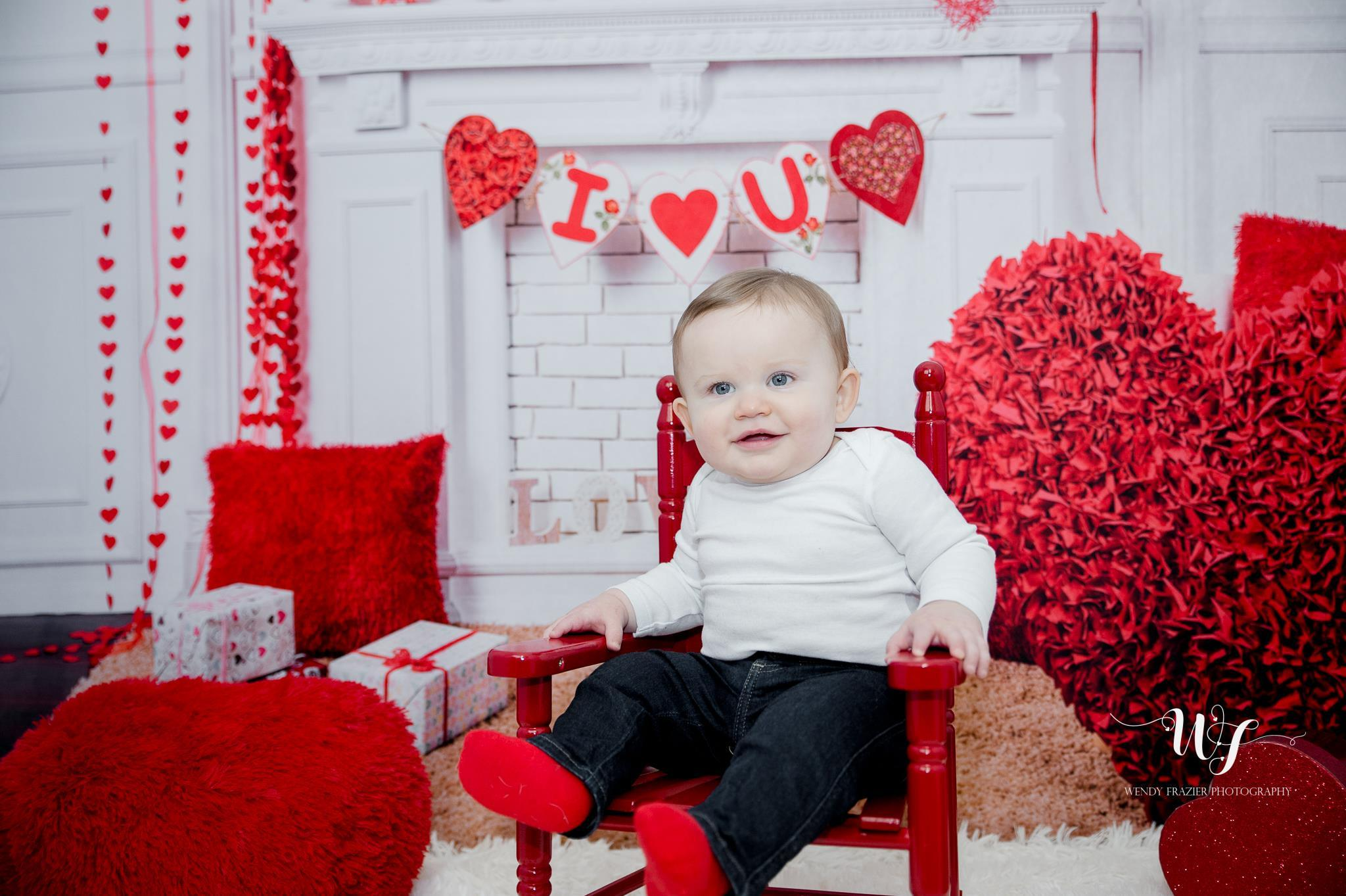 Load image into Gallery viewer, Kate Elegant Valentine's Day Backdrop for Photography
