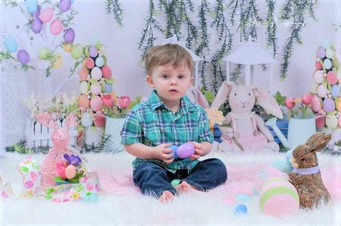 Kate Easter Swag Backdrop Design by Shutter Swan Studios