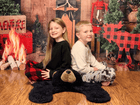 Kate Wood Xmas Toy Christmas Backdrop Design by Shutter Swan Studios