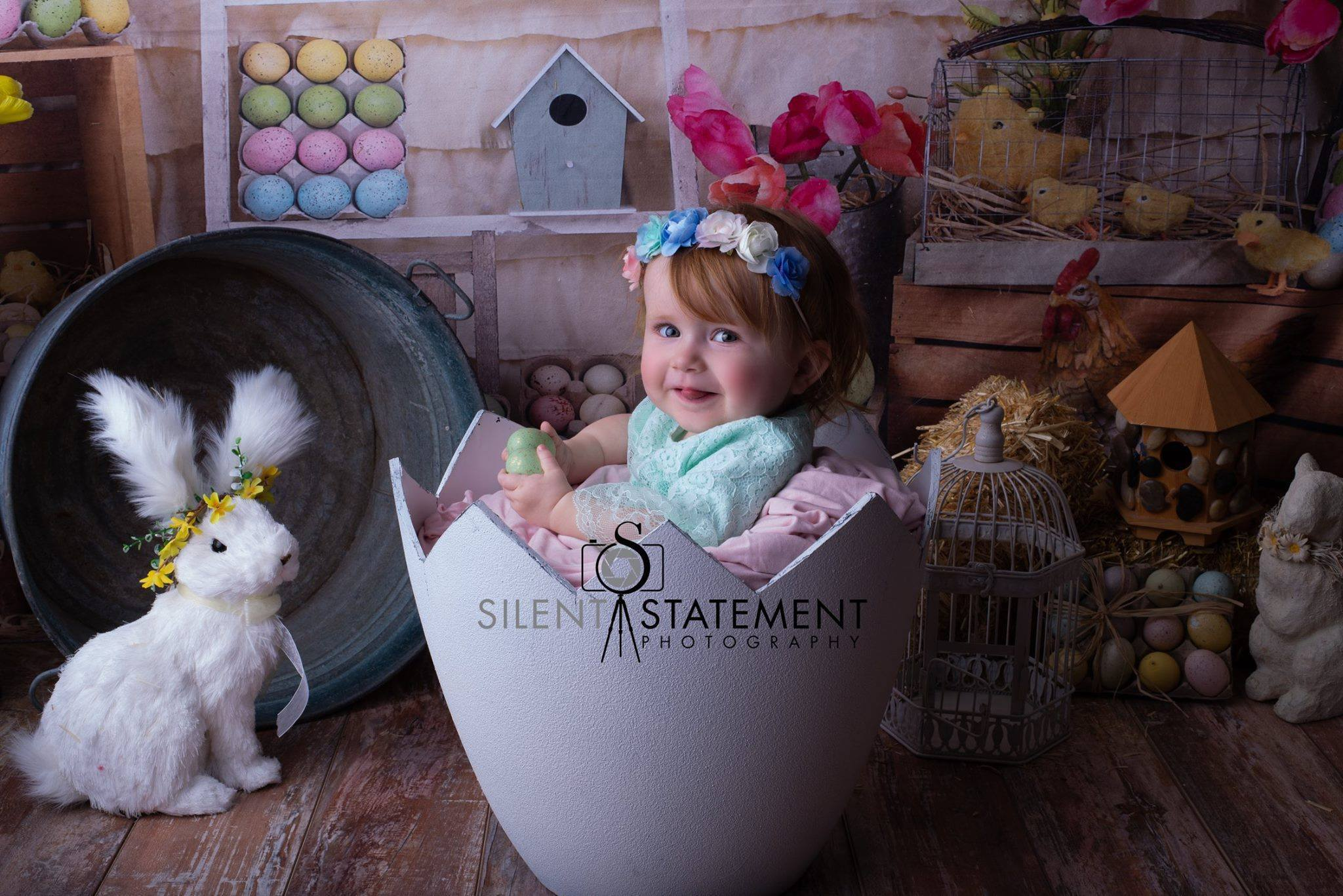 Load image into Gallery viewer, Katebackdrop:Kate Colorful Eggs Happy Easter Backdrop for Photography