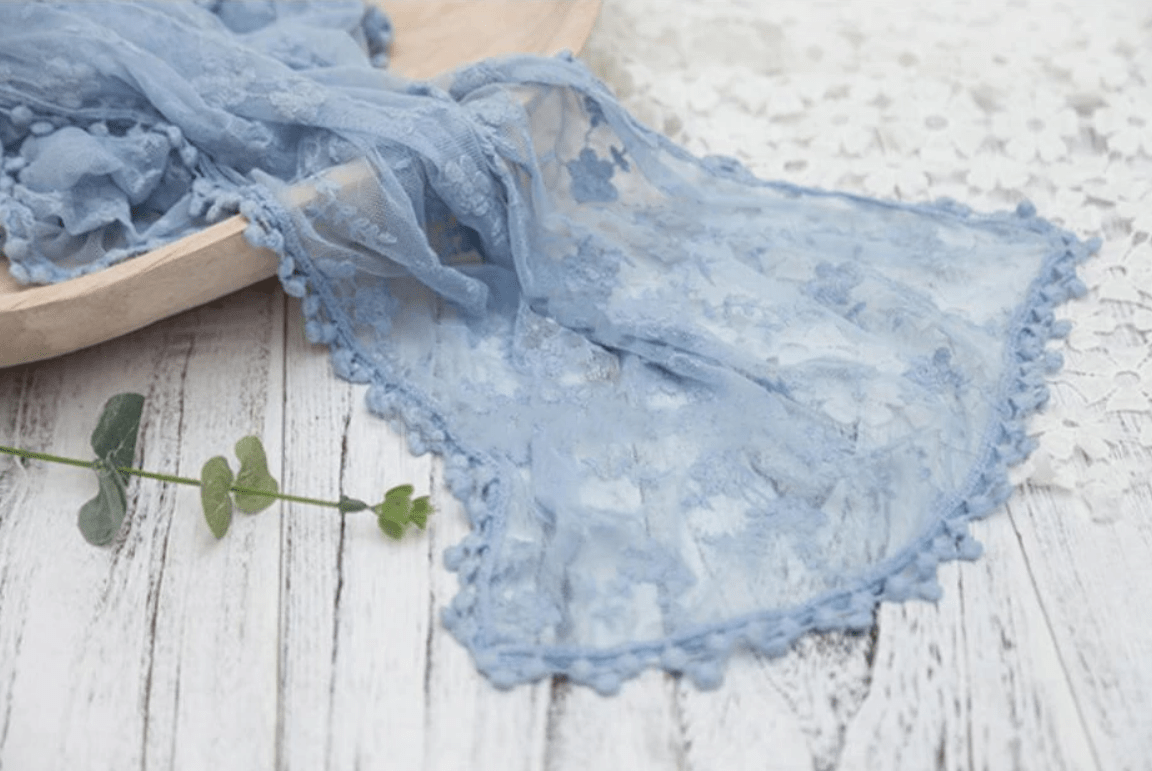 Load image into Gallery viewer, Katebackdrop£ºKate 40x185cm Newborn Baby Lace  Wrap for photography