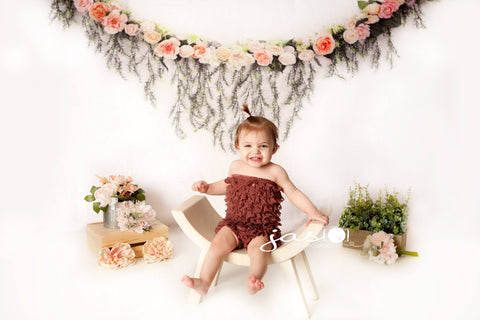 Kate Rose Swag Backdrop for Mother's Day Design by Shutter Swan Studios