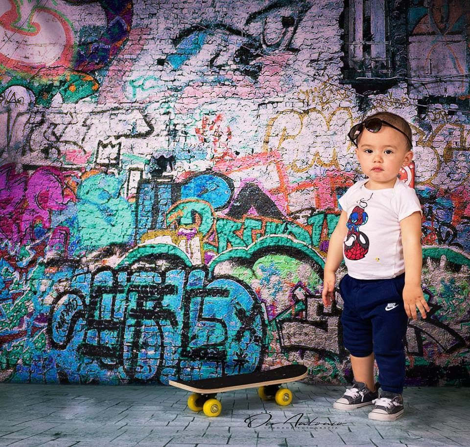Kate Broken Walls Printed For Children Graffiti Photography Backgrounds