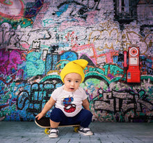 Load image into Gallery viewer, Kate Broken Walls Printed For Children Graffiti Photography Backgrounds