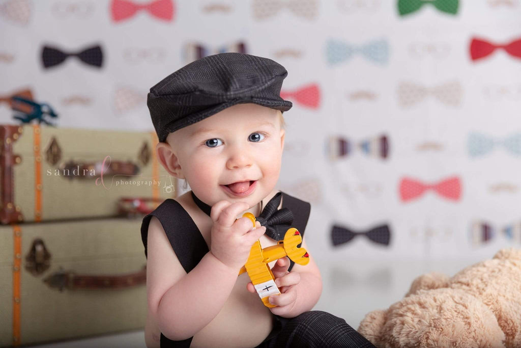 Katebackdrop£ºKate Bowties for Little Guys Father's Day Backdrop for Photography Designed by Amanda Moffatt