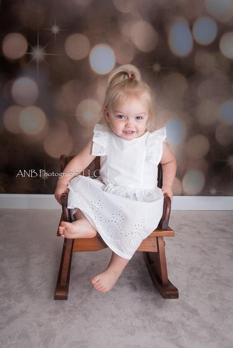 Kate Children Grey Light Spot Photography Backdrops - Katebackdrop