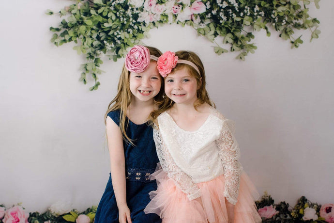 Katebackdrop:Kate Spring Flowers Backdrop for Photography Designed by Megan Leigh Photography