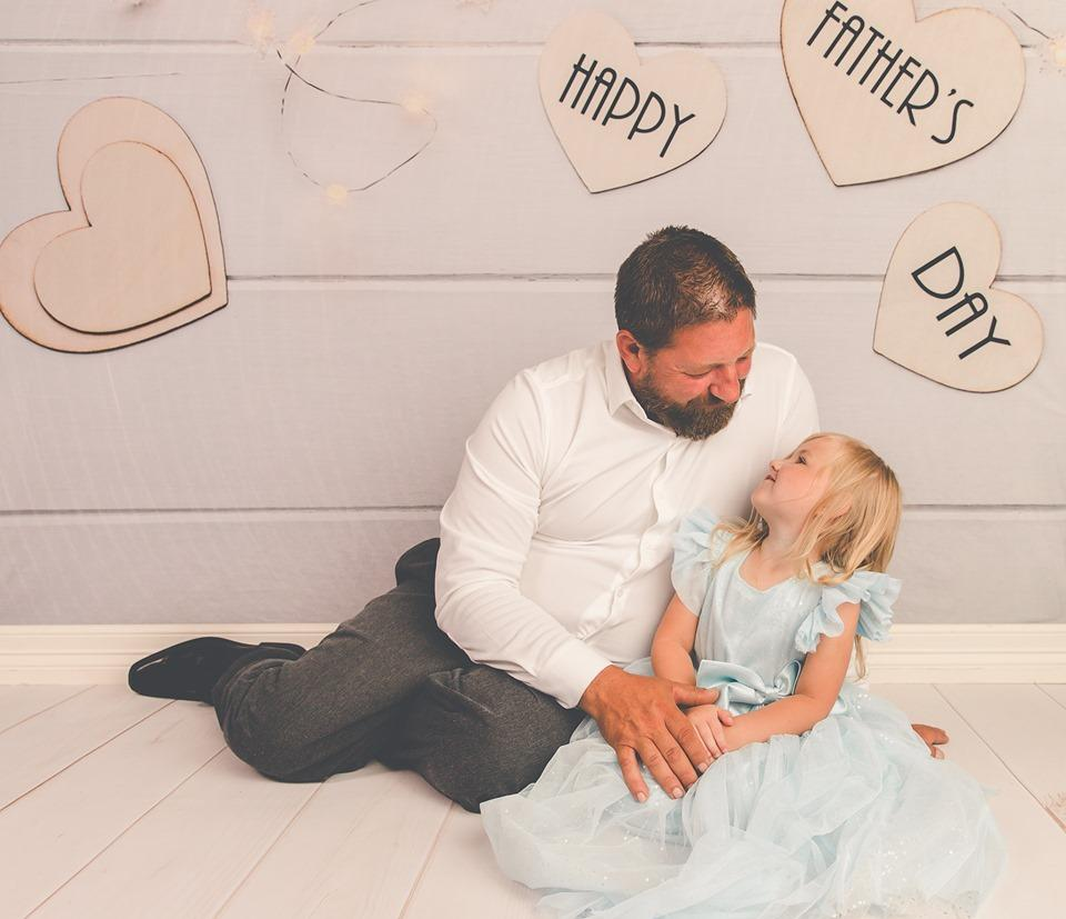 Load image into Gallery viewer, Katebackdrop:Kate Happy Father'S Day White Wood Floor Photography Backgrounds